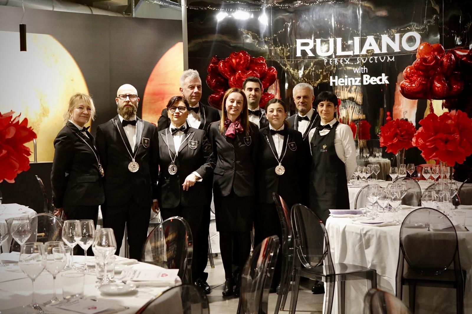 Servizio FISAR al Gran galà di San Valentino