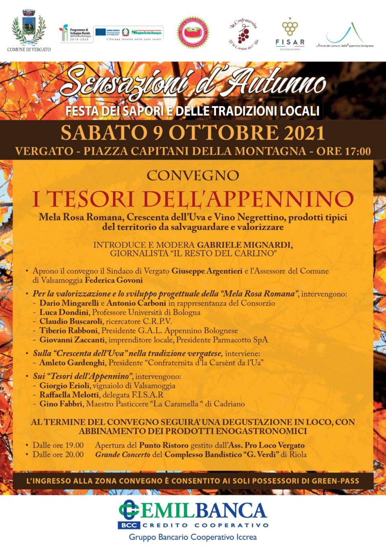 """FISAR al convegno sui """"Tesori dell'Appennino"""""""